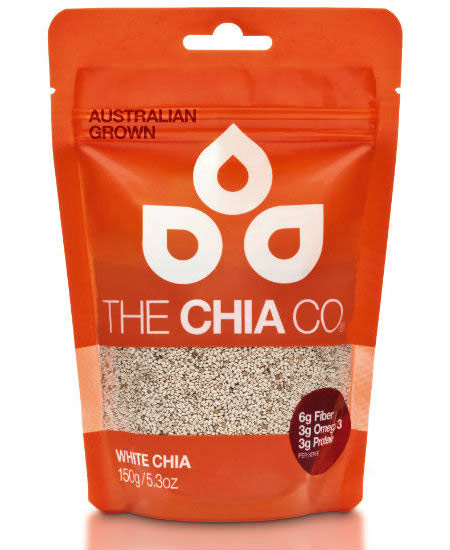 the chia co australia chia seed white 150g