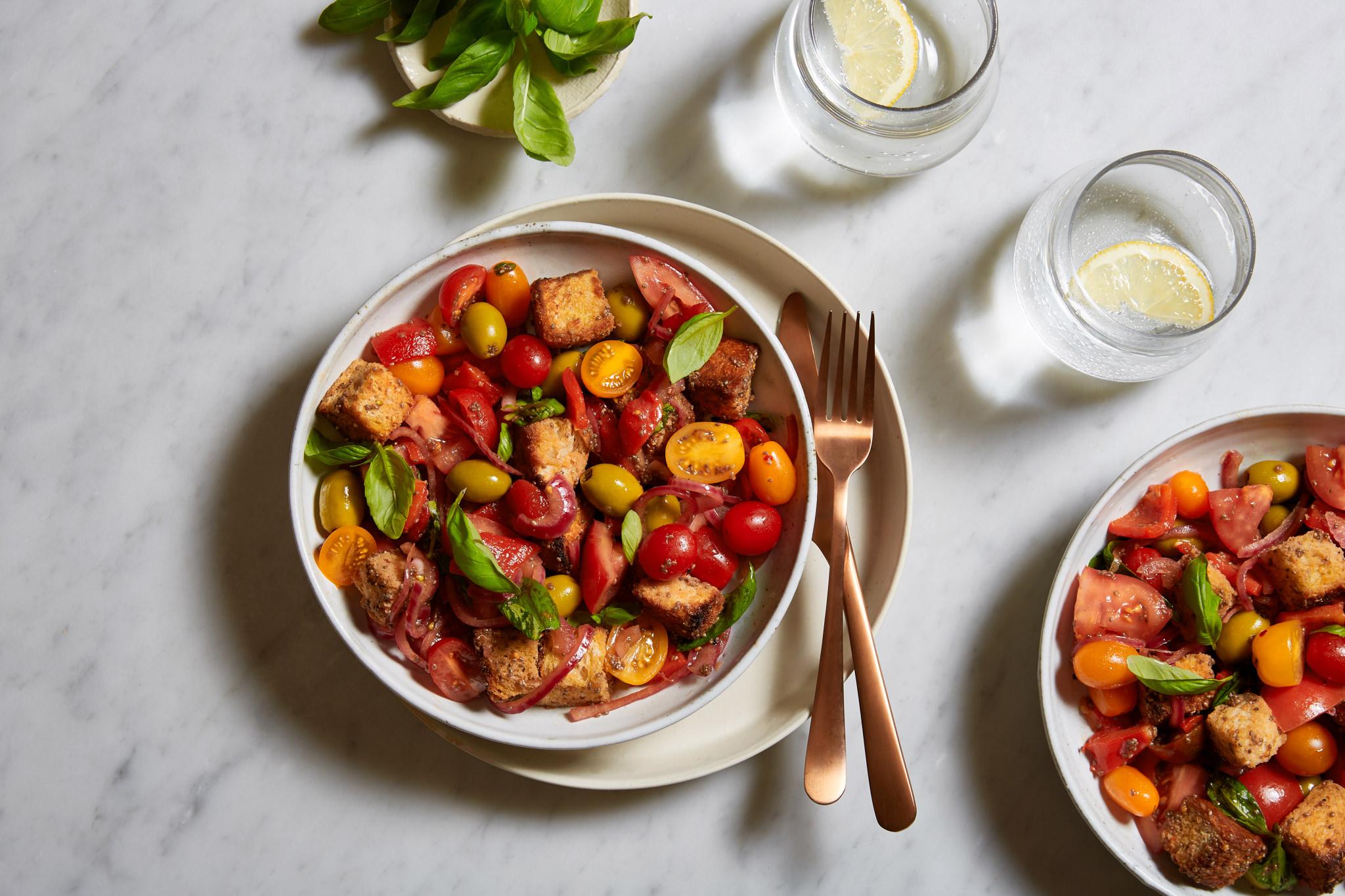The Chia Co Australia   Panzanella Salad